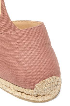 02d6defe82f Carina lace-up canvas wedge espadrilles | CASTAÑER | Sale up to 70 ...