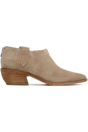 SIGERSON MORRISON Textured-leather ankle boots