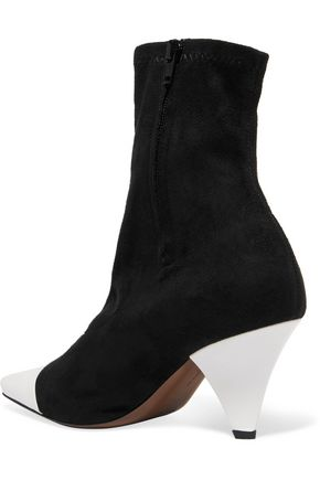 NEOUS Beaks suede and leather ankle boots