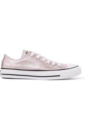 separation shoes 39f64 18db4 CONVERSE Chuck Taylor All Star metallic coated-canvas sneakers ...
