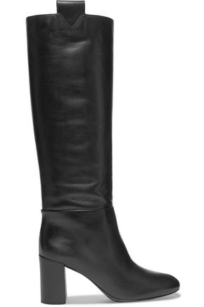 MERCEDES CASTILLO Emmett leather knee boots