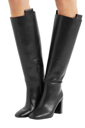 MERCEDES CASTILLO Emmett leather knee boots