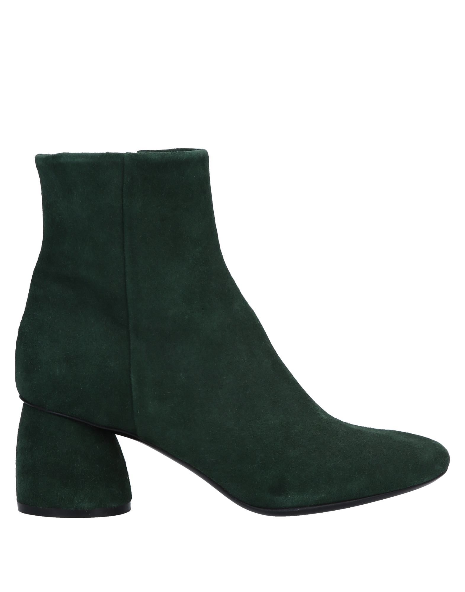 ELENA IACHI Ankle Boots in Dark Green