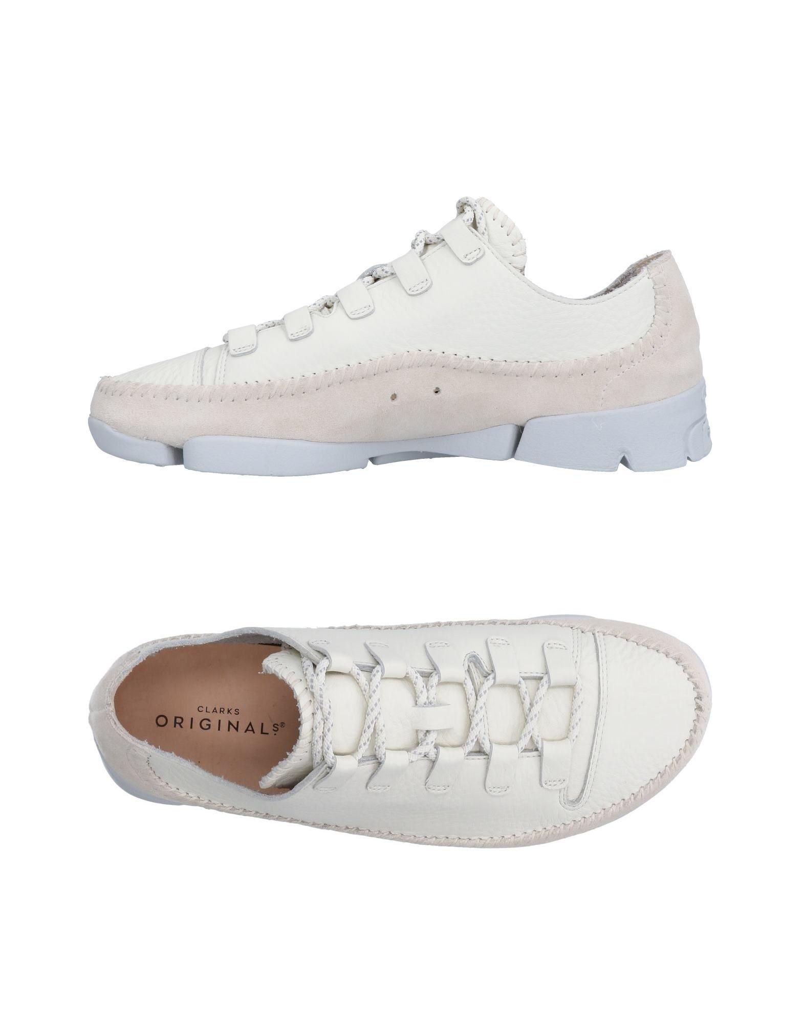 CLARKS ORIGINALS Sneakers in Ivory