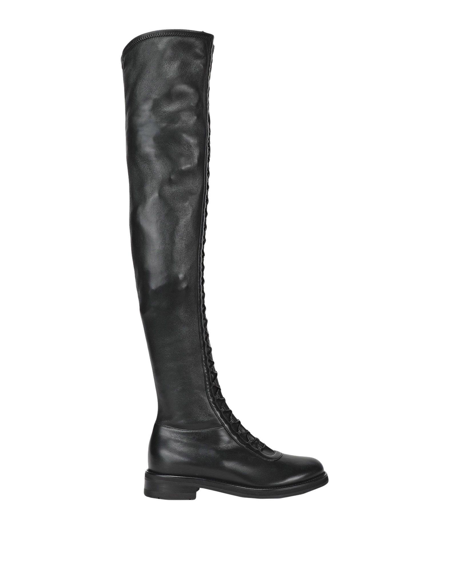 LERRE Сапоги exull женские ботфорты сапоги вышеколена с толстым и низким каблуком