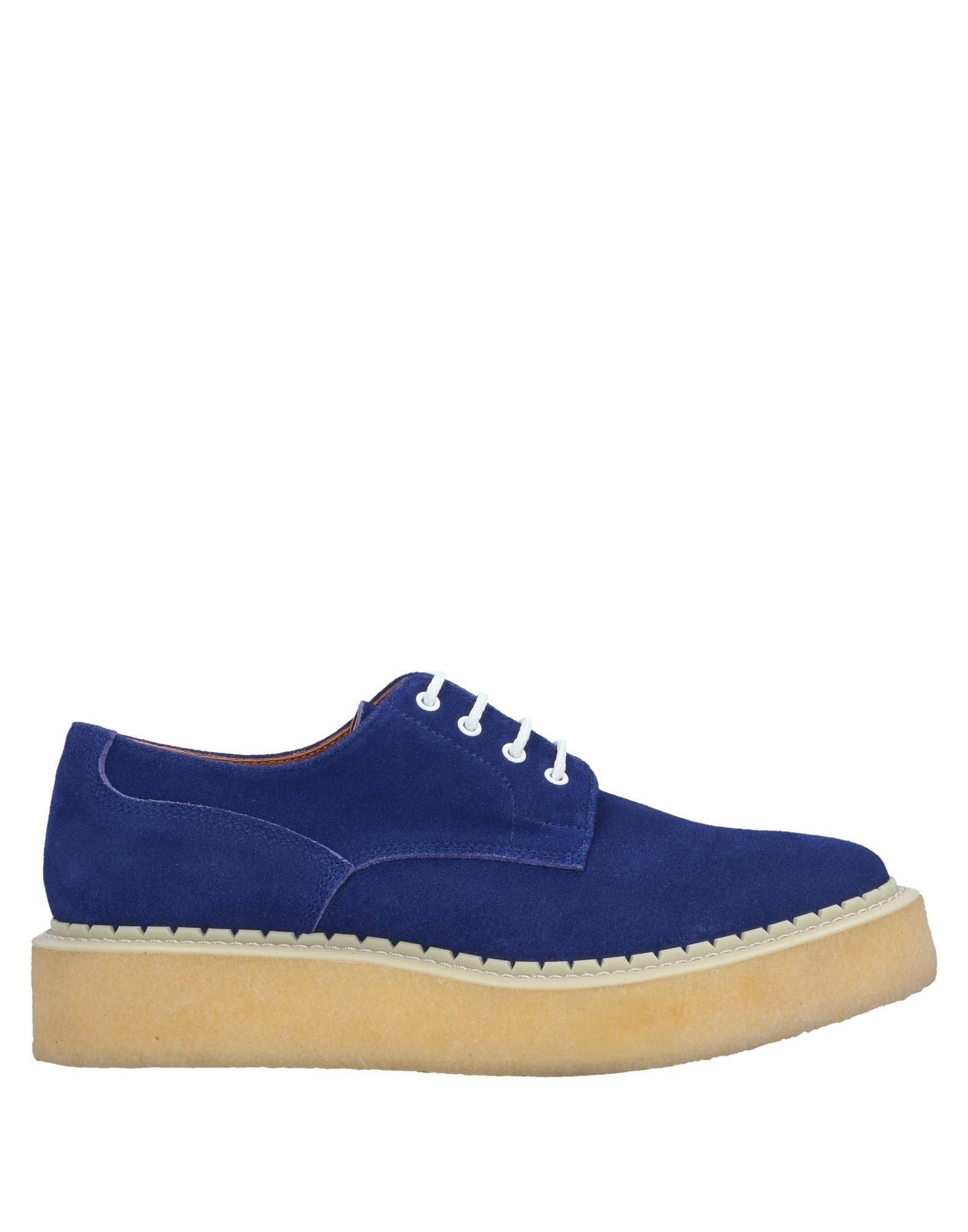 GANRYU Laced Shoes in Bright Blue