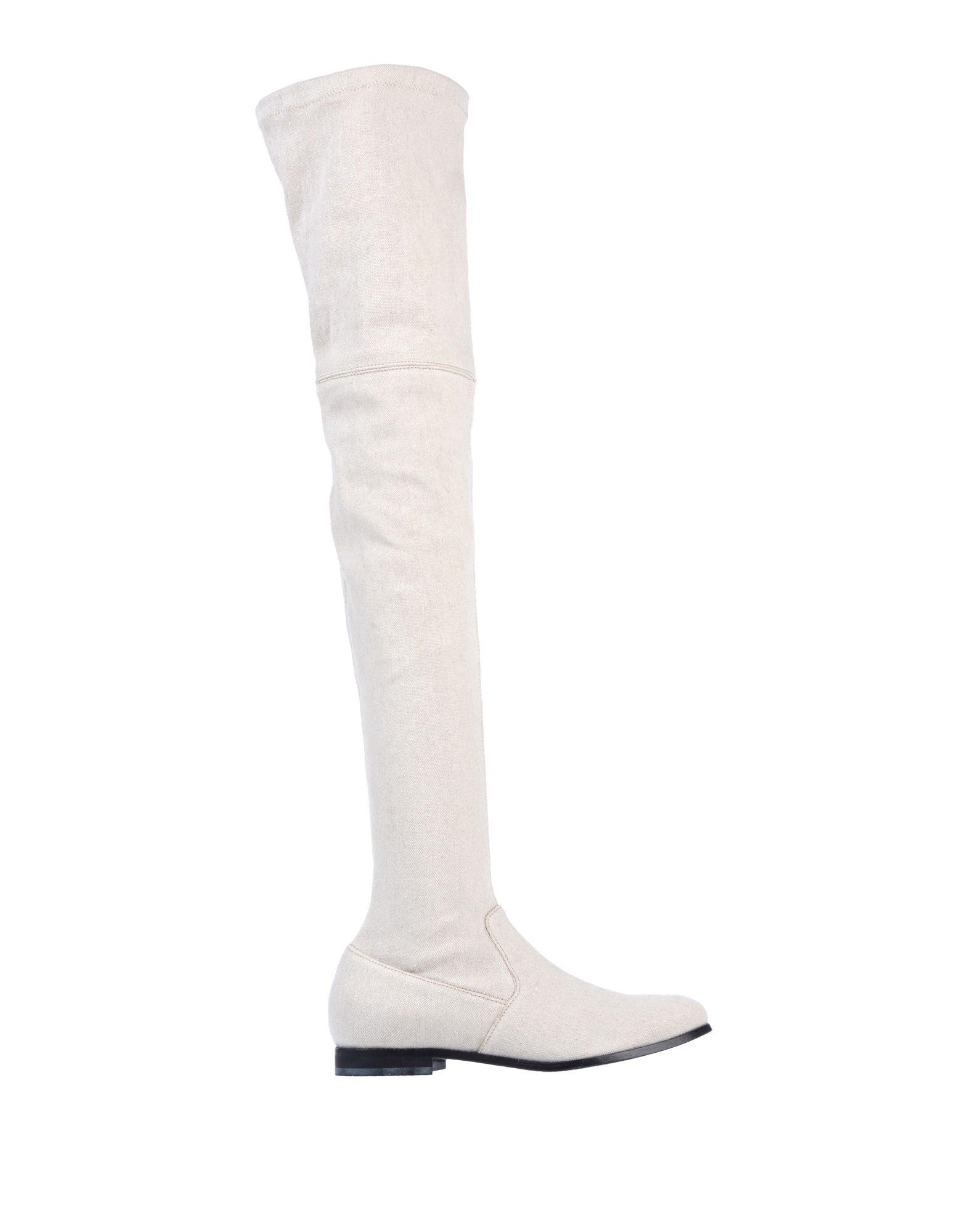 《送料無料》PASSION BLANCHE レディース ブーツ ベージュ 36 紡績繊維