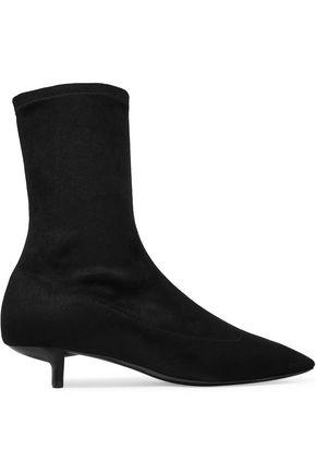 STELLA McCARTNEY Faux suede sock boots