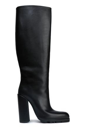ジル サンダー レザー ブーツ