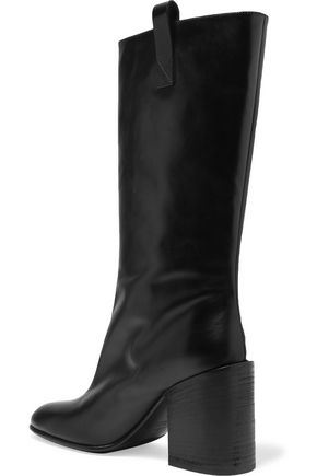 ACNE STUDIOS Glossed-leather boots
