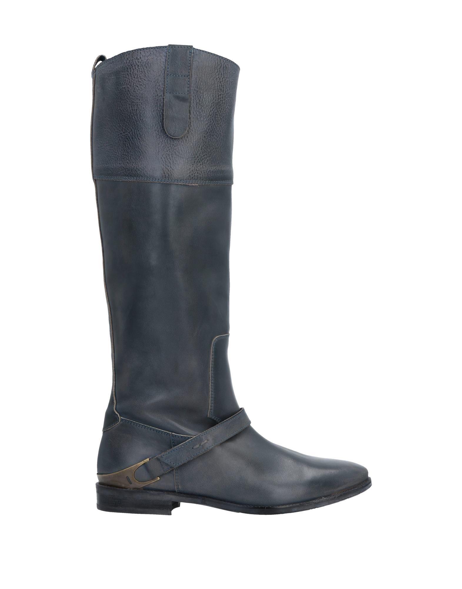 FRIDA レディース ブーツ 鉛色 36 革