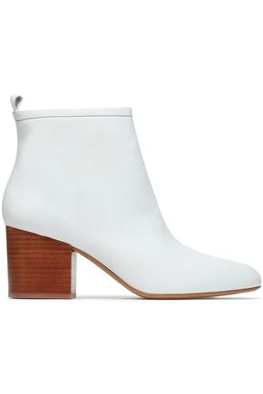 DIANE VON FURSTENBERG Leather ankle boots