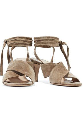767de3464d60 GIANVITO ROSSI Lace-up suede sandals