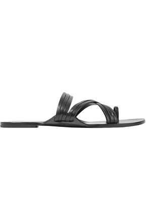 THE ROW Cannes leather sandals