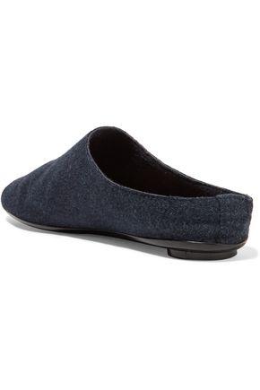 THE ROW Felt slippers