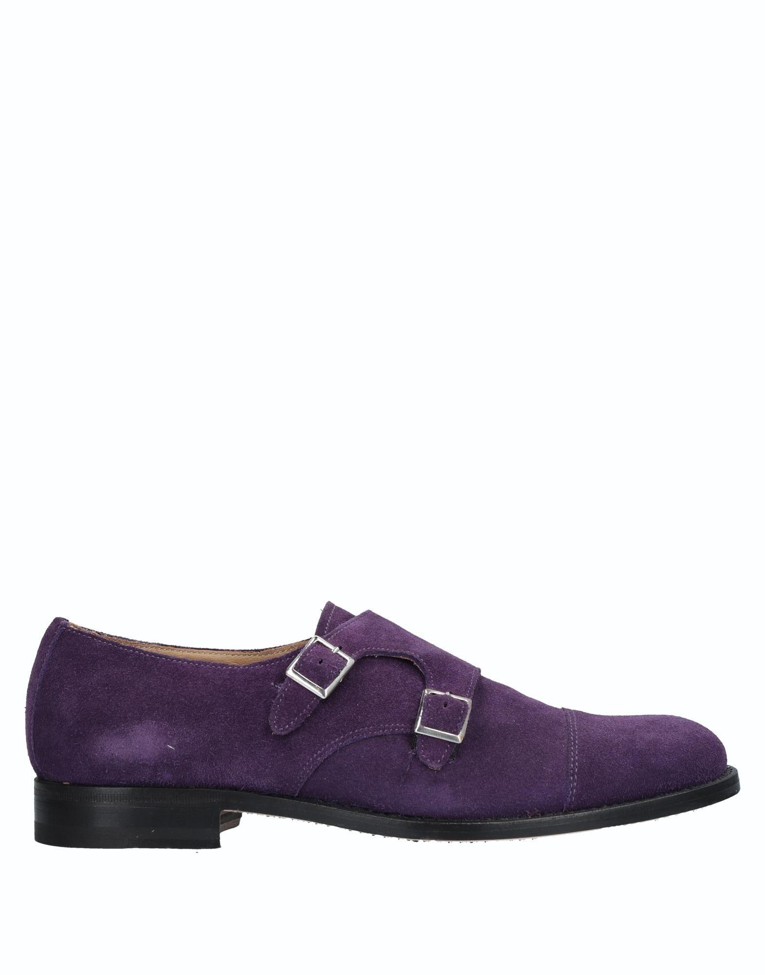 ARANTH Loafers in Purple