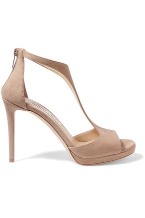 JIMMY CHOO Suede sandals