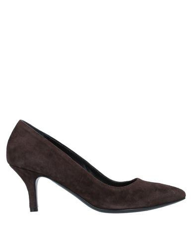 Фото - Женские туфли VINCENZO PICCOLO темно-коричневого цвета