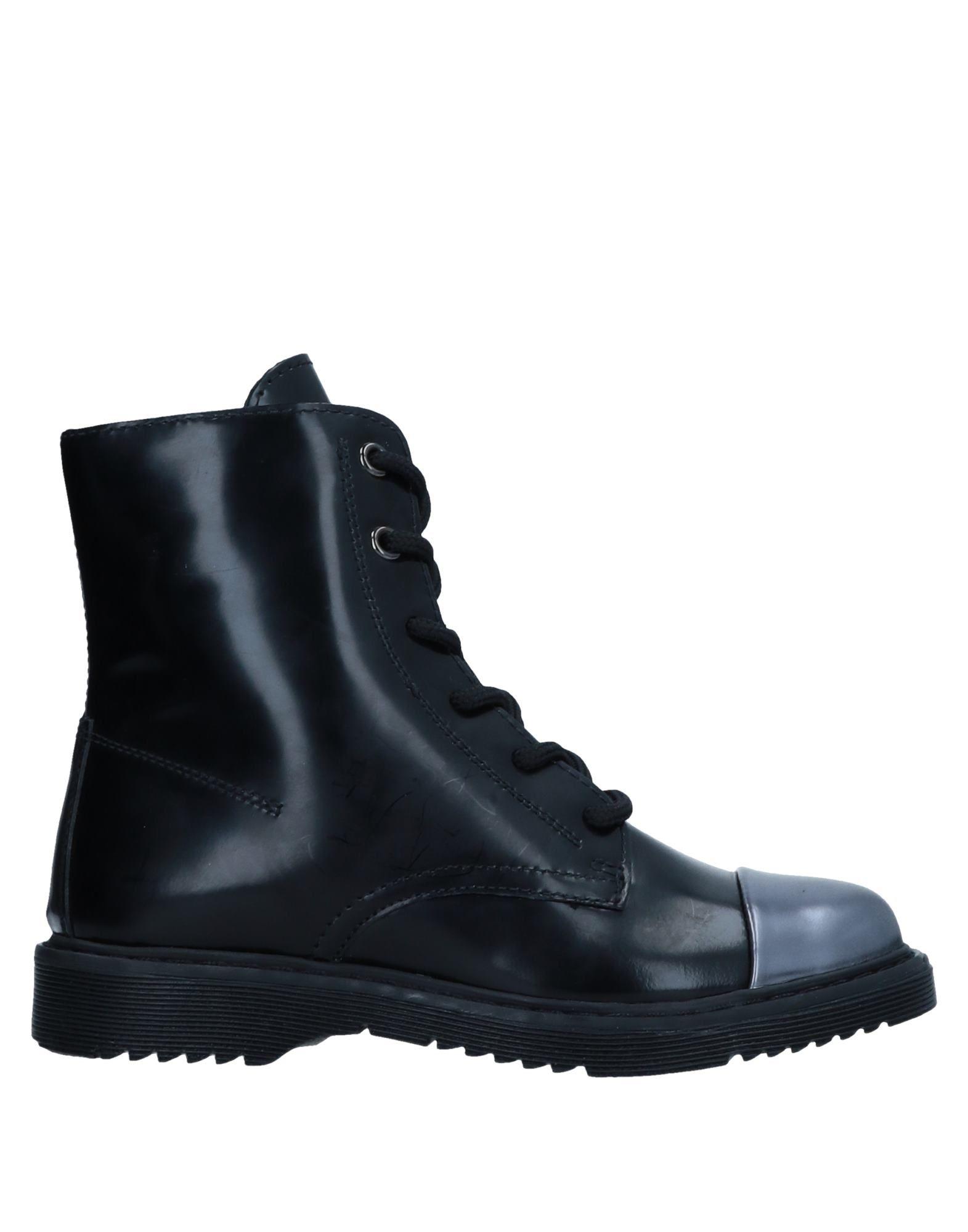 《送料無料》CULT ガールズ 3-8 歳 ショートブーツ ブラック 29 革 / 紡績繊維