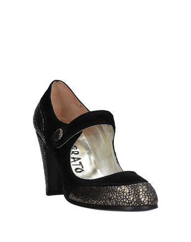 Фото 2 - Женские туфли GIORGIO BRATO черного цвета