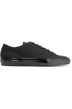 WOMAN by COMMON PROJECTS Coated leather sneakers