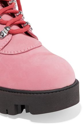 46781ae9724 Telde patent leather-trimmed suede snow boots | ACNE STUDIOS | Sale ...