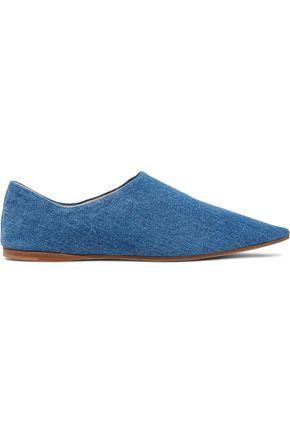 ACNE STUDIOS Amina denim loafers