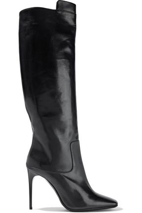 ACNE STUDIOS Meriall glossed-leather knee boots
