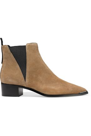 ACNE STUDIOS Nubuck ankle boots