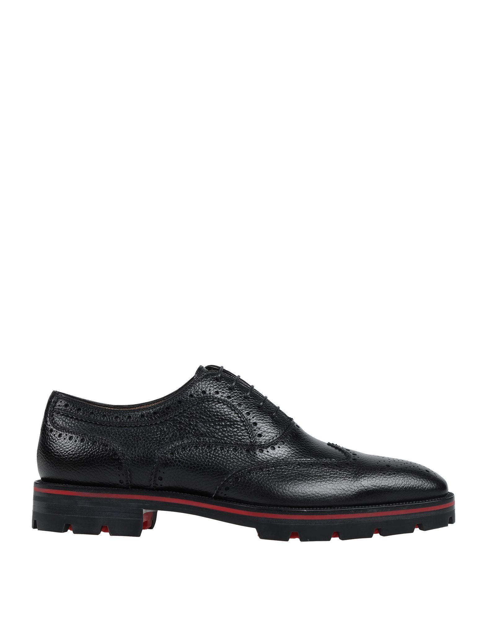 цена на CHRISTIAN LOUBOUTIN Обувь на шнурках