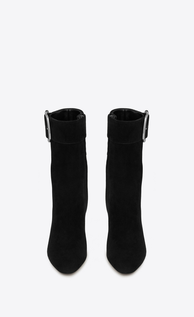 SAINT LAURENT Boots Woman joplin buckle bootie in suede b_V4