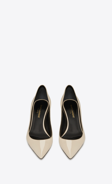 SAINT LAURENT Charlotte pump Woman charlotte kitten heel in patent leather b_V4