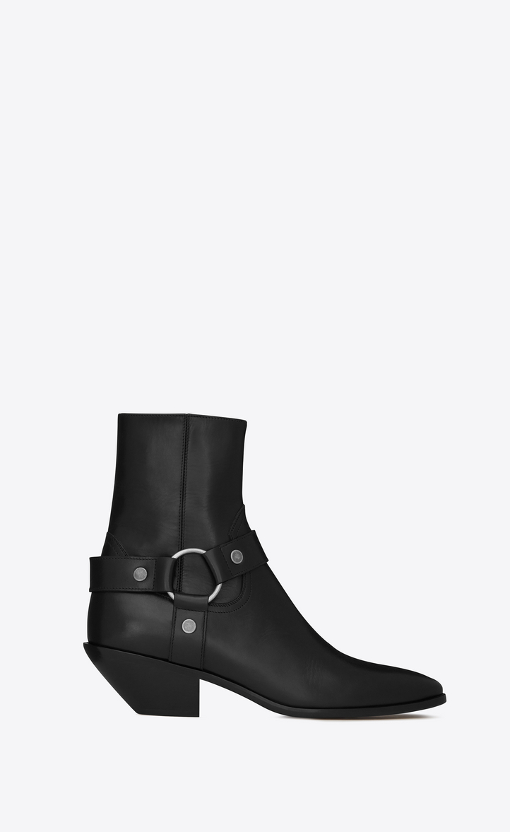 WEST HARNESS BOOTIE IN LEATHER