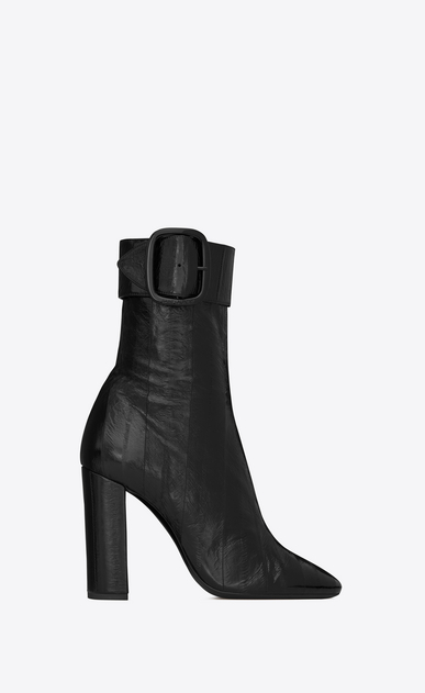 SAINT LAURENT ブーツ レディース joplin buckle bootie in eel a_V4