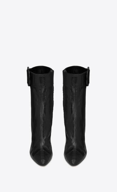 SAINT LAURENT Boots Woman joplin buckle bootie in eel b_V4