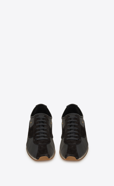 SAINT LAURENT スニーカー レディース jay sneaker in leather and suede b_V4