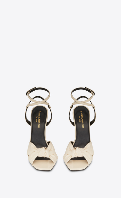 SAINT LAURENT Sandals Woman amy sandal in patent leather b_V4