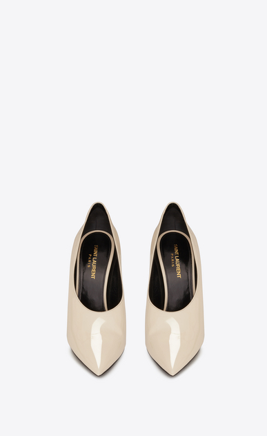 SAINT LAURENT Pumps Woman teddy pump in patent leather b_V4