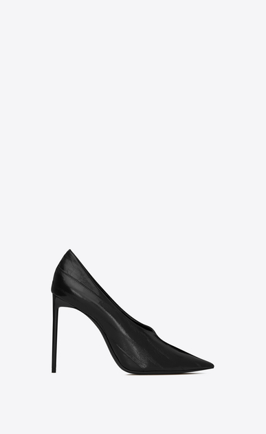 SAINT LAURENT Pumps Woman teddy pump in eel a_V4