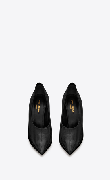 SAINT LAURENT Pumps Woman teddy pump in eel b_V4