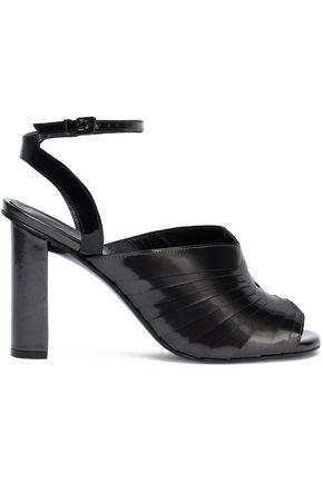 ROBERT CLERGERIE Lincal layered patent-leather sandals
