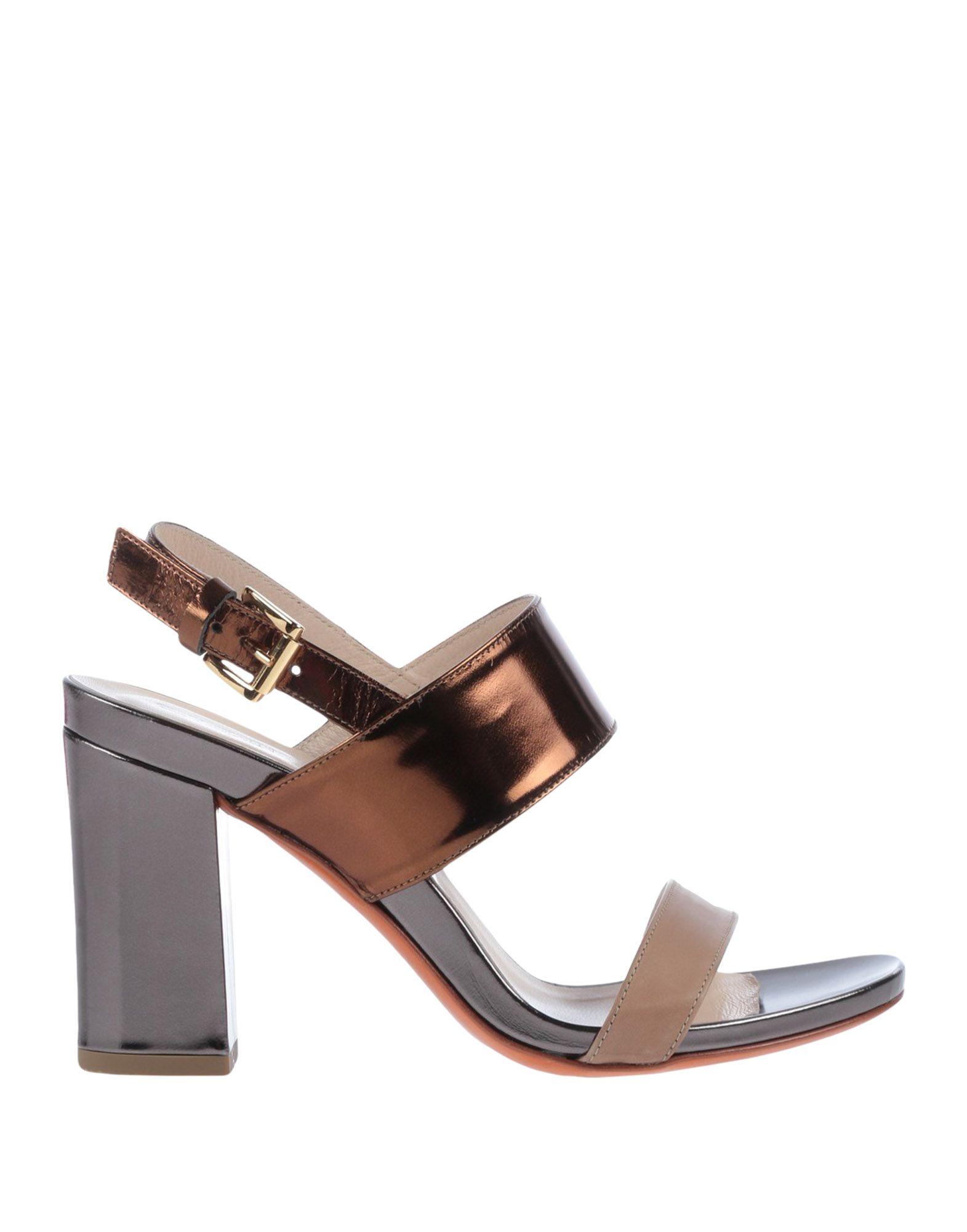 CIVIDINI Sandals in Bronze