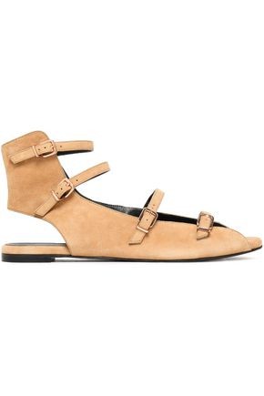 ROBERT CLERGERIE Glona cutout suede sandals