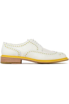 ROBERT CLERGERIE Perforated leather brogues