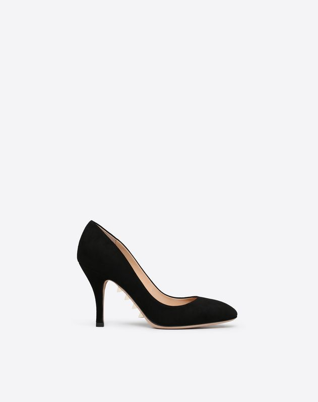 Suede Sole Spike Pump 90mm