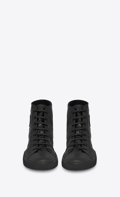 SAINT LAURENT Bedford Man men - bedford sneakers in leather and eel b_V4