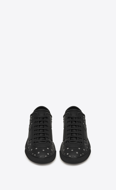 SAINT LAURENT Low Top Sneakers Man andy sneakers in leather and studs b_V4