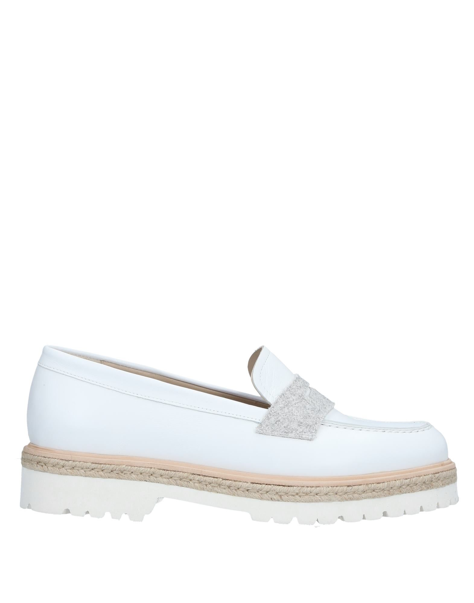 LOLO Loafers in White