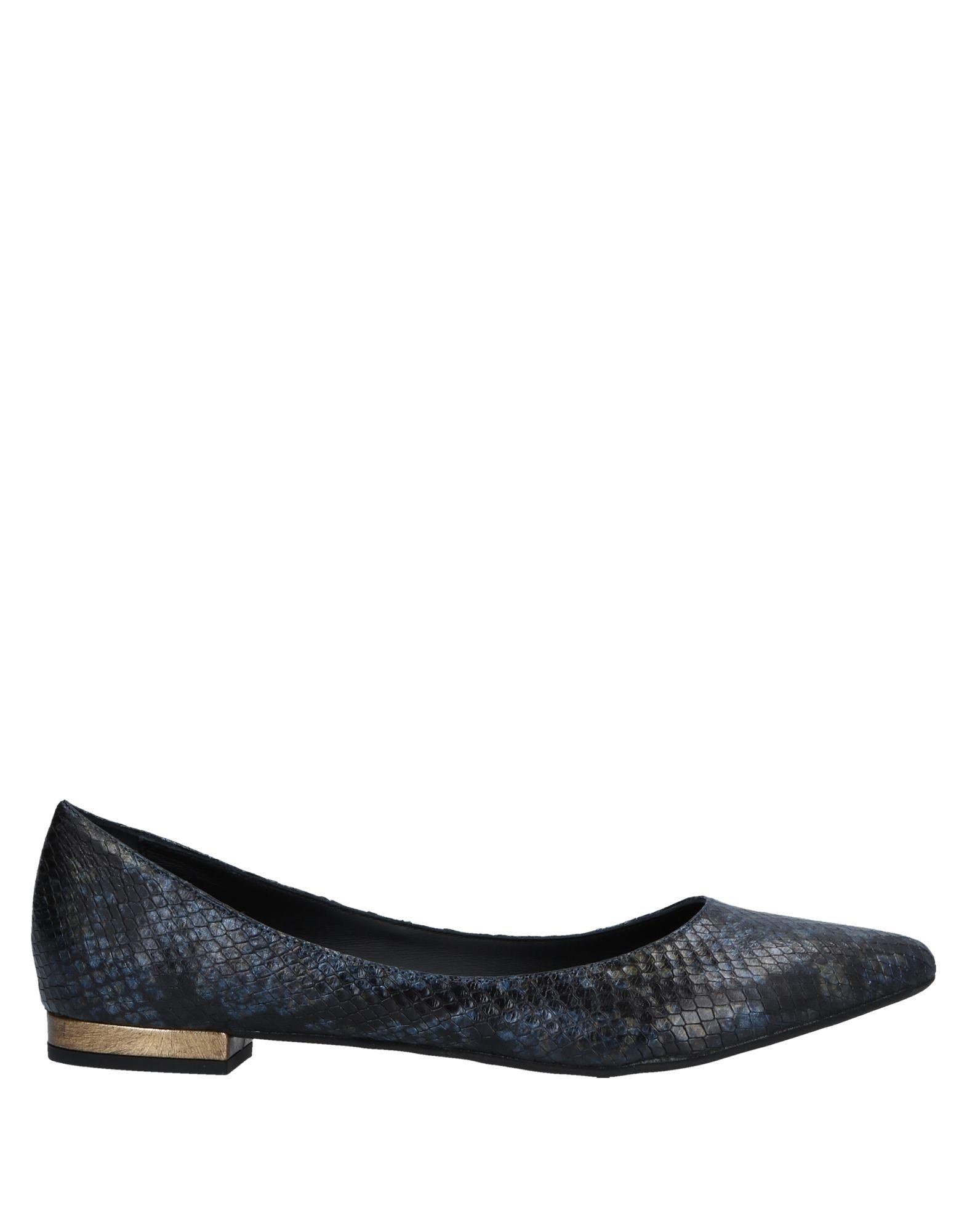 LOLO Ballet Flats in Slate Blue
