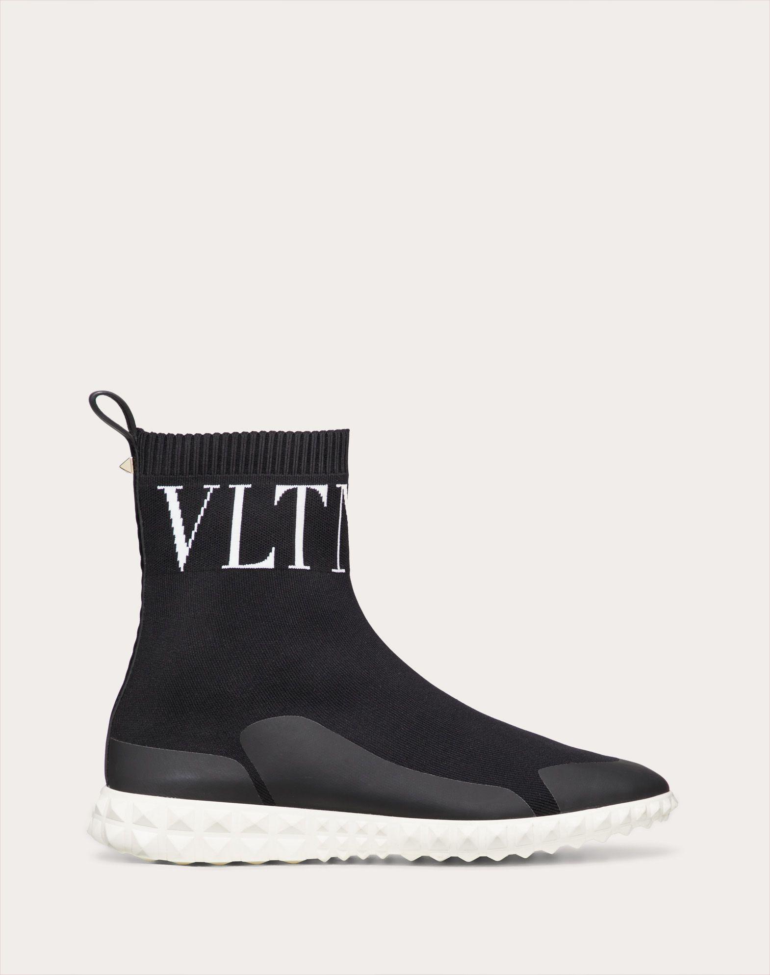 Sneakers façon chaussettes VLTN